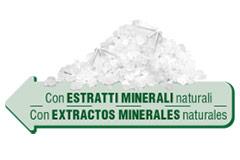 Con estratti minerali